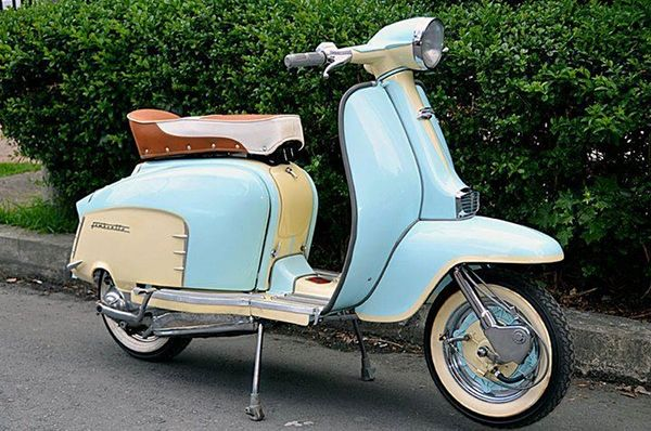 25 best ideas about lambretta scooter on pinterest for Garage scooter nice