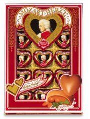 Mozart czekoladki serduszka 150 g - art. 387