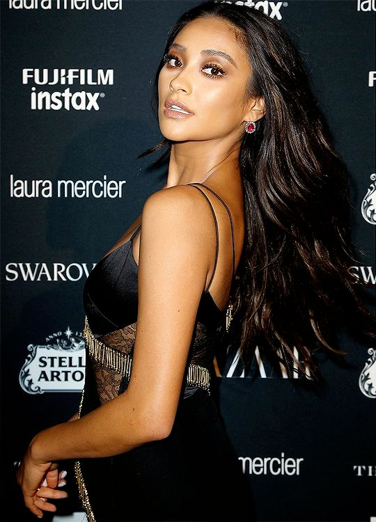 Shay Mitchell attends Harper's BAZAAR Celebration of 'ICONS By Carine Roitfeld' at The Plaza Hotel presented by Infor, Laura Mercier, Stella Artois, FUJIFILM and SWAROVSKI on September 8, 2017 in New York City