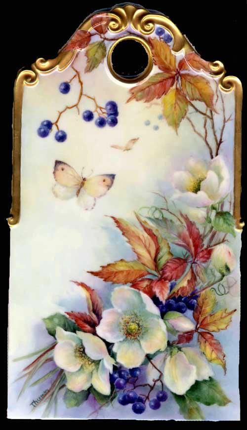 Knew of a lady that gave China Painting lessons-her work was beautiful. No longer there now that I'm retired :(