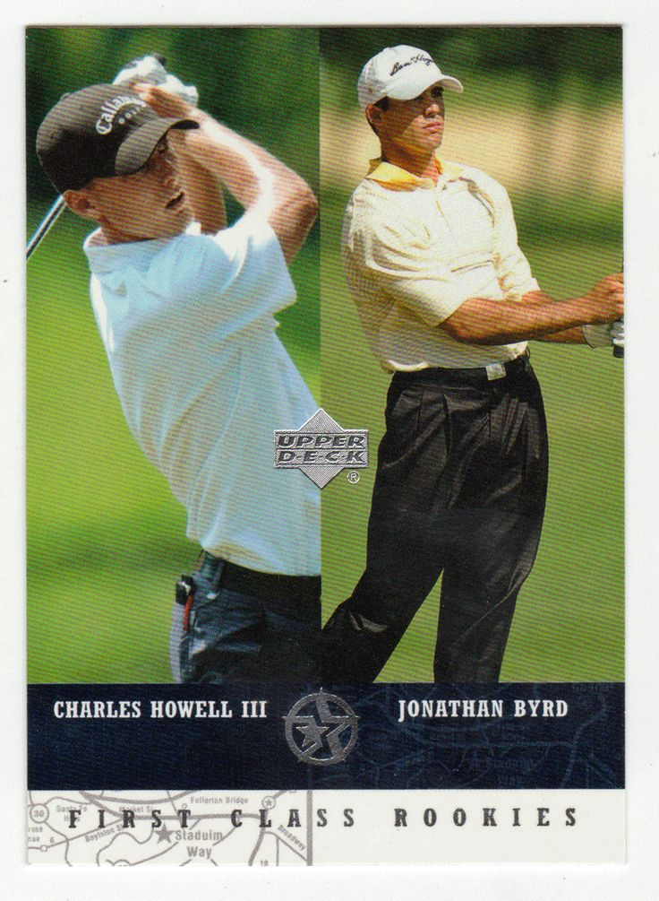 Charles Howell III / Jonathan Byrd # 298 - 2002-03 Upper Deck Superstars Multi Sports Card - PGA & LPGA Golf