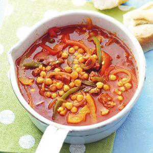 Recept - Spaanse maaltijdsoep met chorizo - Allerhande