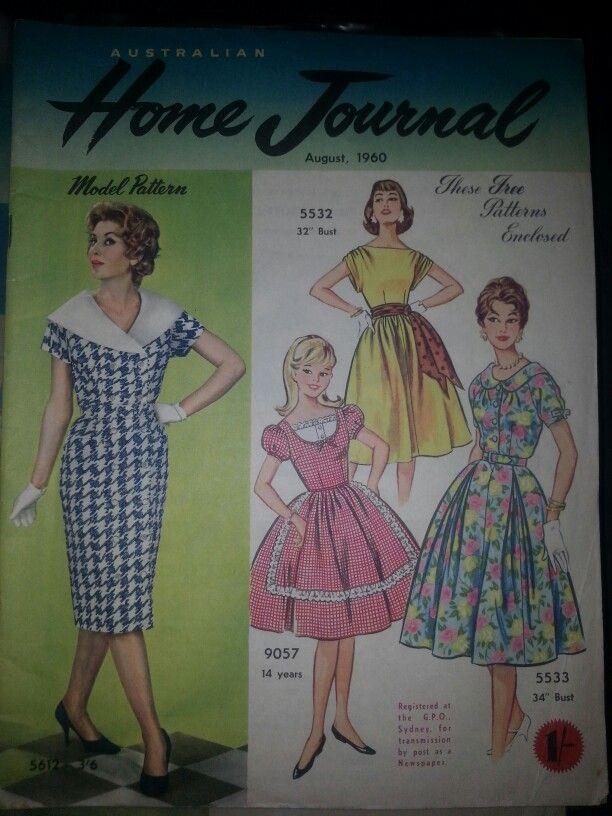 Australian home journal August 1960 cover