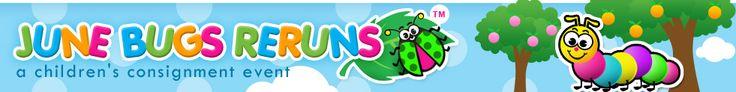June Bugs Reruns consignment event