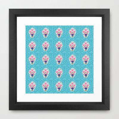 Nina Framed Art Print by Simi Design - $33.00