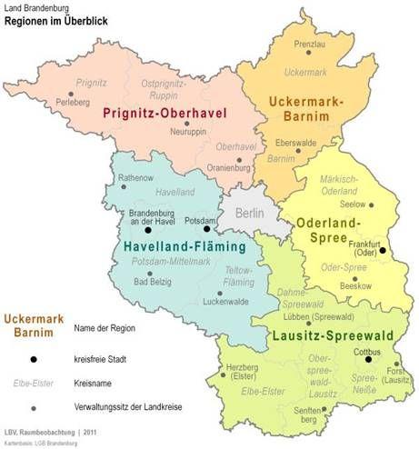 Starkung Der Brandenburger Regionen Strukturpolitik Aus Einem Guss Spreewald Brandenburg Und Rotes Rathaus