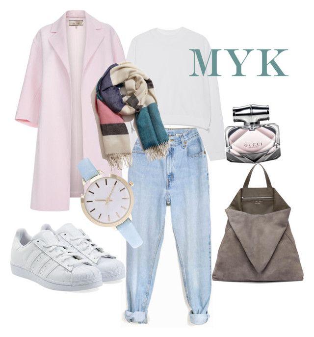 """Hijab Sport Style"" by meryemyildirim ❤ liked on Polyvore featuring Levi's, Acne Studios, Paul Smith, adidas Originals, A Peace Treaty, TSATSAS, Gucci, women's clothing, women and female"