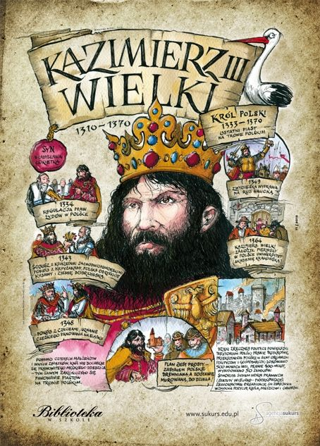 Kazimierz Wielki - Poczet królów polskich - Agencja Sukurs - sklep internetowy
