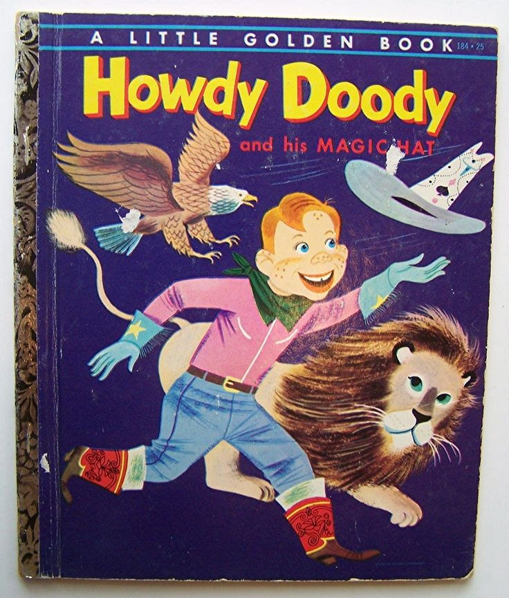 184 Howdy Doody And His Magic Hat By Edward Kean Illustrated Art