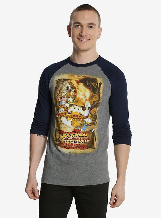 Disney Ducktales The Movie Treasure Of The Lost Lamp Raglan T-Shirt