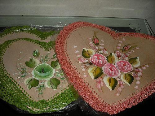 artesanato emborrachado flores - Buscar con Google