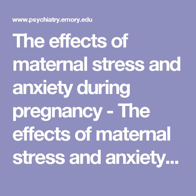 The effects of maternal stress and anxiety during pregnancy - The effects of maternal stress and anxiety during pregnancy (mot07).pdf