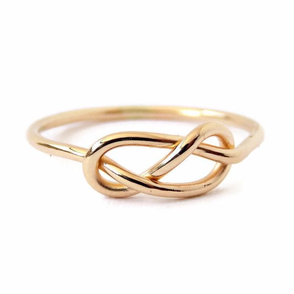 This Infinity Knot Ring is a dainty and classic ring. It's a great gift for that special someone for Mother's Day, Valentine's Day, wedding or engagement, or makes a great promise ring. This ring come