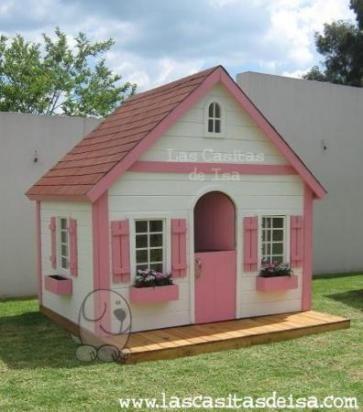 41 best images about casitas de madera on pinterest - Casas de madera para ninos ...