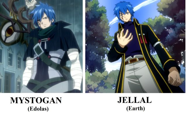 Mystogan AND Jellal - Fairy Tail (Yes they are different people)