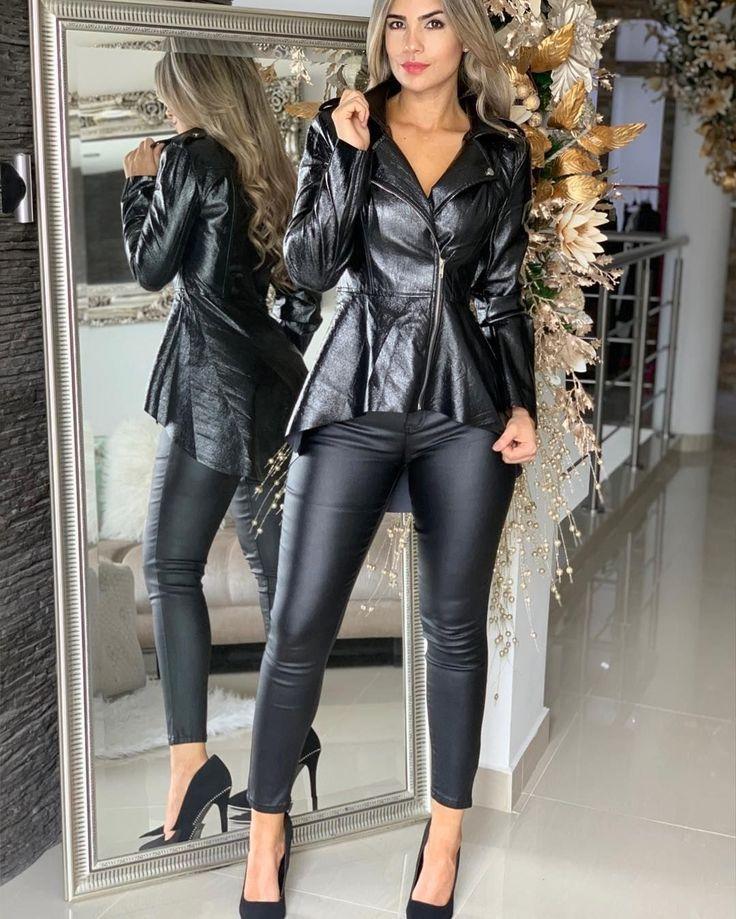 Leather Lady ️ - life - #Lady #Leder #Leben - Kleidung - #