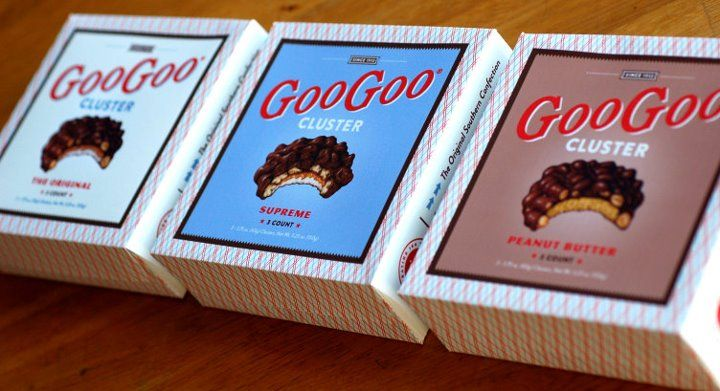 Try Nashville's very own GooGoo Clusters