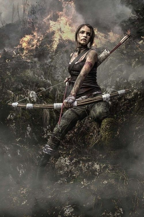 Post-Apocalyptic Fashion<<< that is freaking Lara Croft