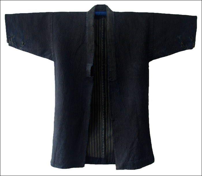Antique Japanese Noragi Sashiko Jacket