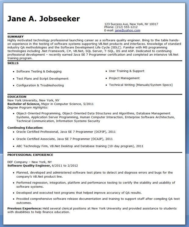 68 Cool Images Of Quality Engineering Resume Examples Hairstylistresume Engineering Resume Engineering Resume Templates Resume Examples