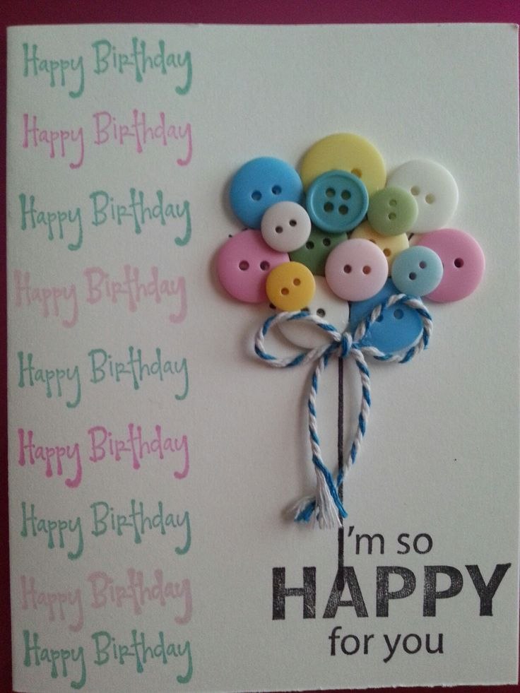 Button balloons by Lisa Champney