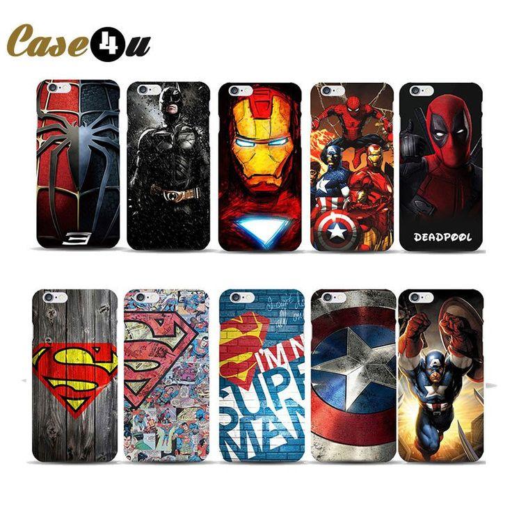 Fantastic Superhero Hard Phone Case Cover for iPhone 7, 7 Plus, 6, 6s, 5, 5SE. (50% Off Sale!)