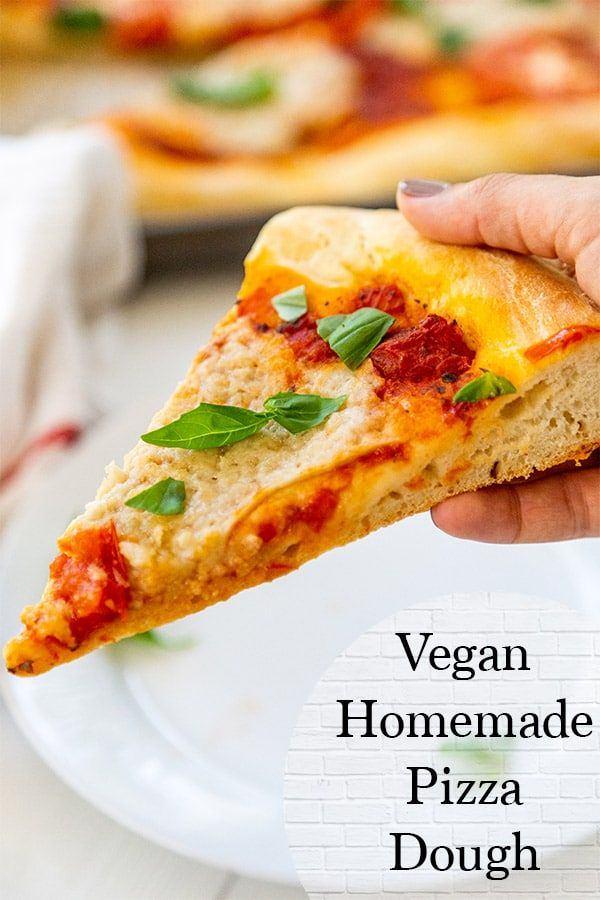 Easy Vegan Homemade Pizza Dough Recipe Recipe Vegan Pizza Dough Homemade Pizza Homemade Pizza Dough