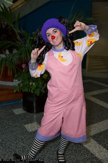The Big Comfy Couch girl would make such a cute costume! Add some big yellow glasses and a doll!(: