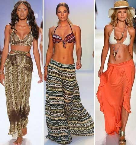 Длинная пляжная юбка купить