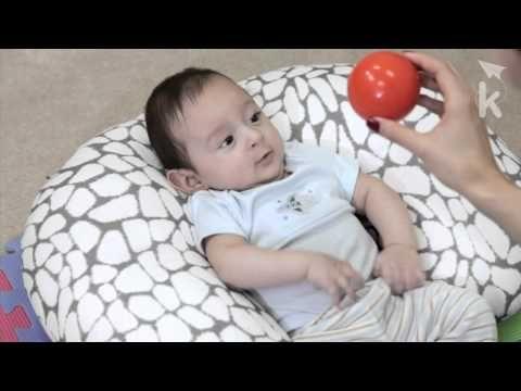 """Actividad """"La Pelota"""" para bebés entre los 0-3 meses. (Estimulación temprana, actividades para niños)"""