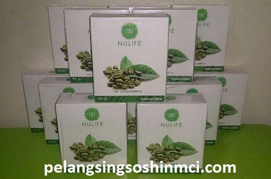 nulife green coffee,produk nulife green coffee