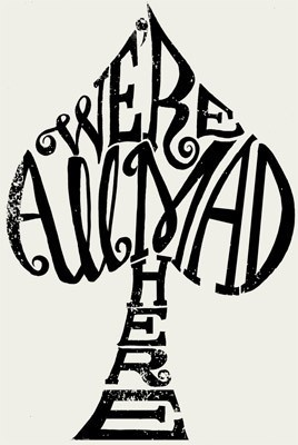 we're all mad here  sharon chai: Tattoo Ideas, Cheshire Cat, Awesome Tattoo, Quotes, Mad, Alice In Wonderland, A Tattoo, We R, Aliceinwonderland