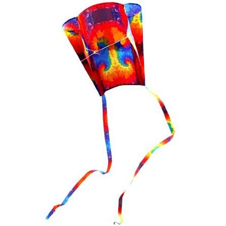 High Quality Supplest Pocket Kites For Kids 31-Inch Colorful Parafoil Kite With Flying Tools Factory Outlet