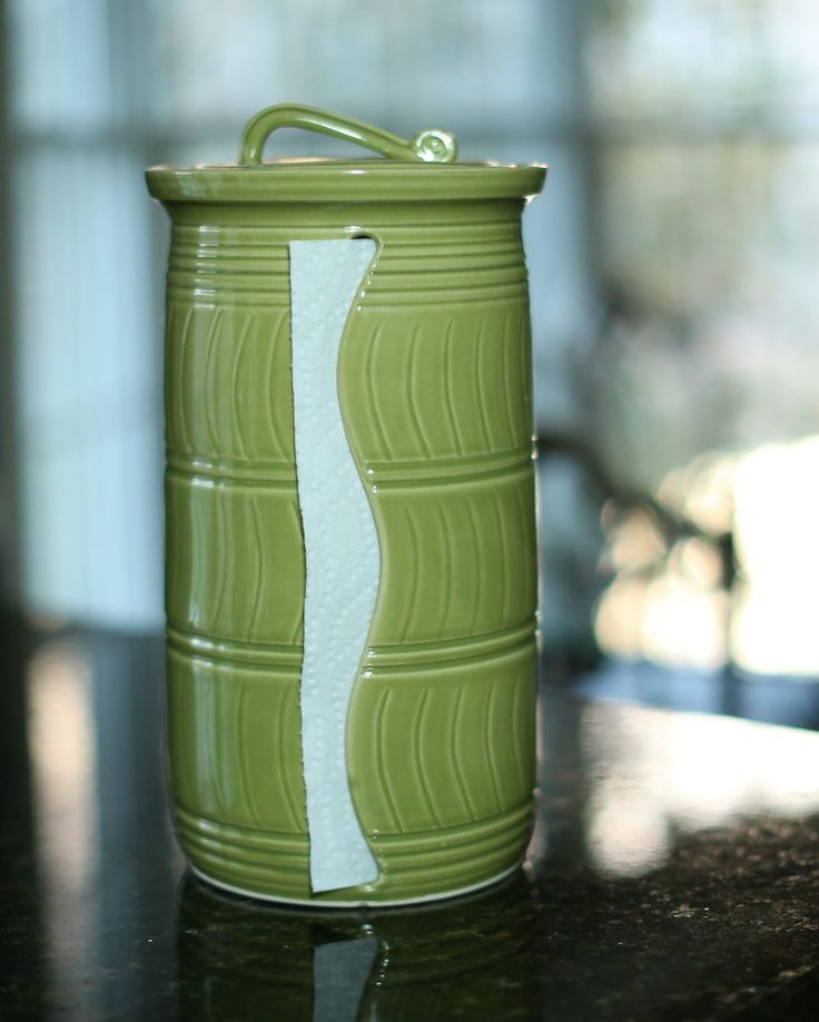 Travel Paper Towel Holder: This Is Awesome! Ceramic Paper Towel Holder! Paxisplace