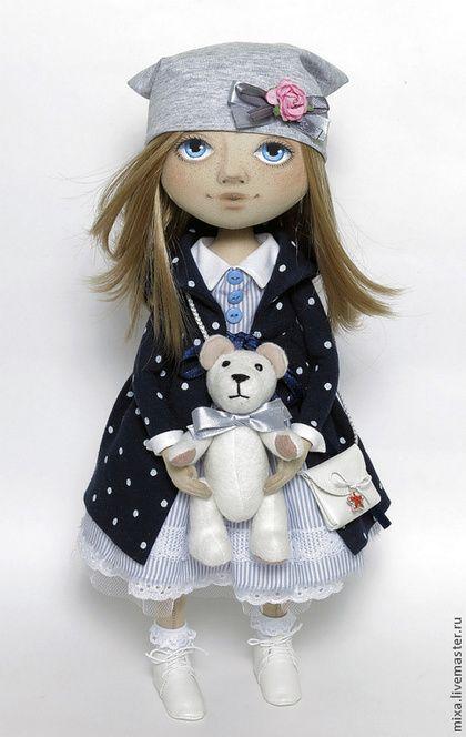 Коллекционные куклы ручной работы. Милана. Куклы от Томы. Ярмарка Мастеров. Подарок девушке, хлопковый трикотаж