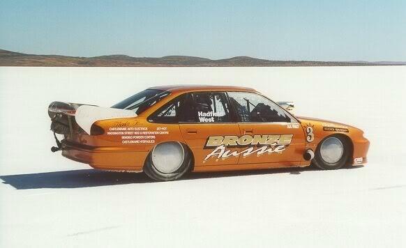 Rod Hadfield : bronze aussie, salt lake racing
