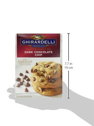 Ghirardelli Premium Cookie Mixes 16.75oz Box Pack of 3 Choose Flavors Below Dark Chocolate Chip >>> Find out more about the great product at the image link. (This is an affiliate link) #ChocolateChipCookiesIdeas