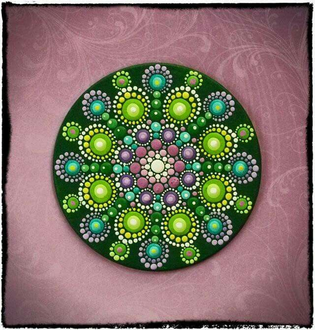 inspiration for dot painting mandalas