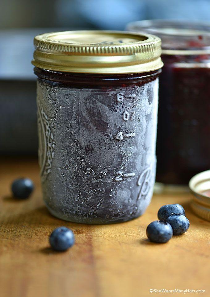 Easy Blueberry Freezer Jam Recipe                                                                                                                                                                                 More