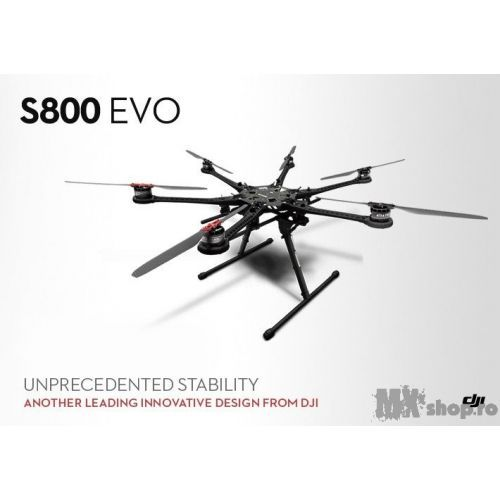 Hexacopter DJI Spreading Wings S800 EVO - MXShop - GoPro - TU esti EROUL