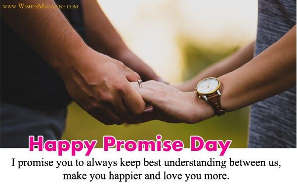 Best happy promise day wishes for husband wife. #Happy_Promise_Day #PromiseDay #PromiseMessages #promise