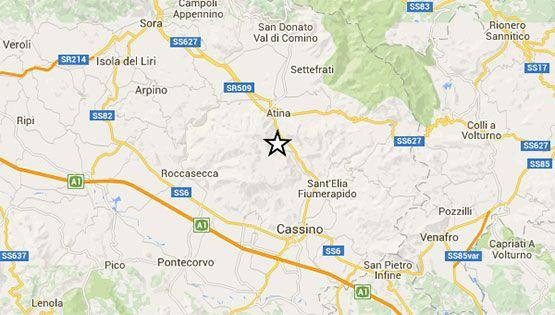 Attimi di spavento per gli abitanti di  Cassino e dintorni per la scossa di terremoto