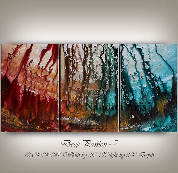Hey, I found this really awesome Etsy listing at https://www.etsy.com/listing/173037832/large-wall-art-abstract-painting-acrylic