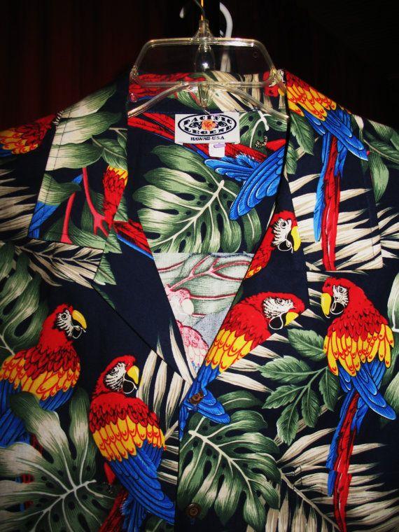 Amazing Vintage Hawaiian Shirt PACIFIC Legend by oldmagicchest