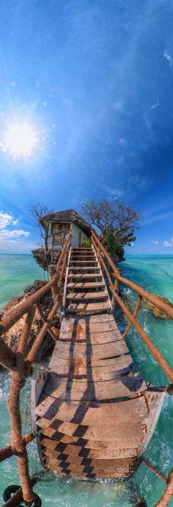 The Rock Restaurant in Zanzibar - Tanzania | Africa