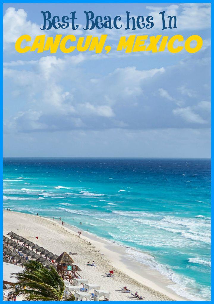 Best beaches in Cancun: Playa Delfines, Playa Chac Mool, Playa Tortugas, Mandala Beach, Playa Caracol, Playa Marlin, Forum Beach Cancun, Playa Langosta, Playa Gaviota Azul, Playa Linda