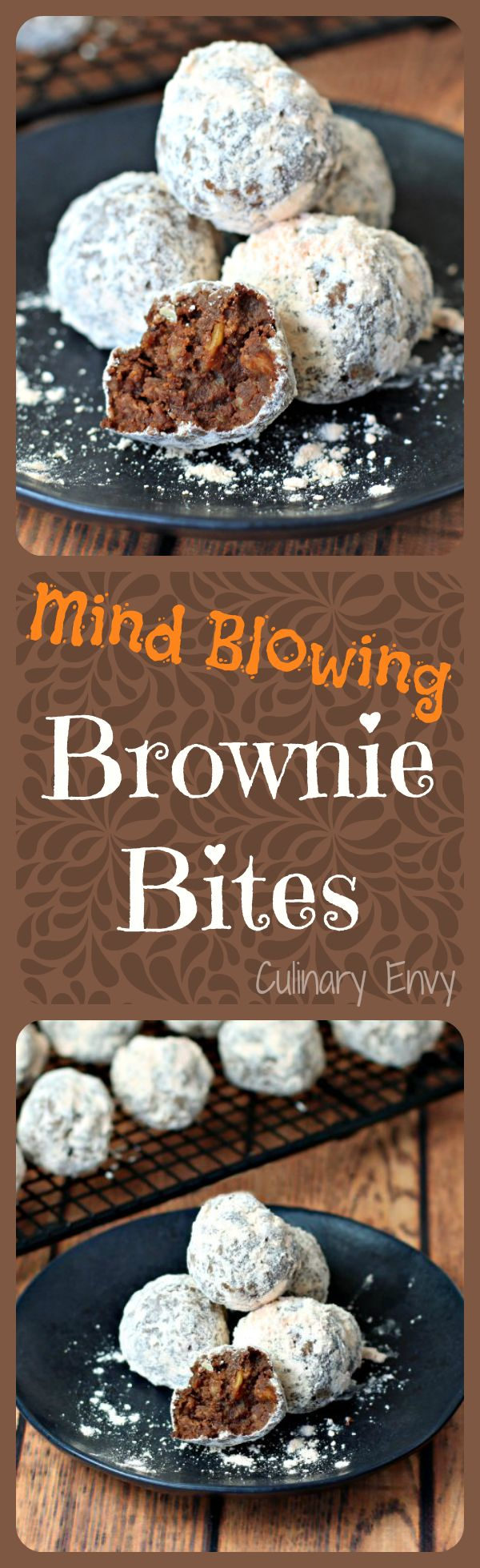 You won't believe what 5 ingredients make up these Mind Blowing Brownie Bites. Your family will go CRAZY for this fudgy, nutty dessert!