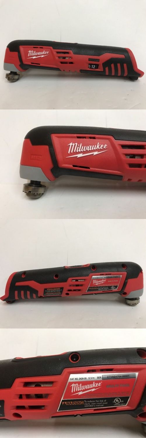 Multi-Tools 46459: *New* Milwaukee 2426-20 M12 Cordless Multi-Tool (Tool Only) -> BUY IT NOW ONLY: $52.95 on eBay!