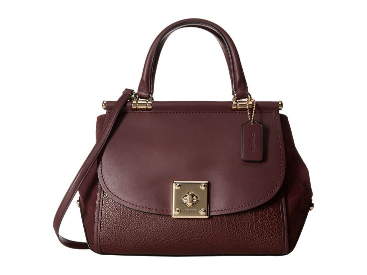 COACH Mixed Leather Drifter Carryall. #coach #bags #lining #travel bags #weekend #suede #