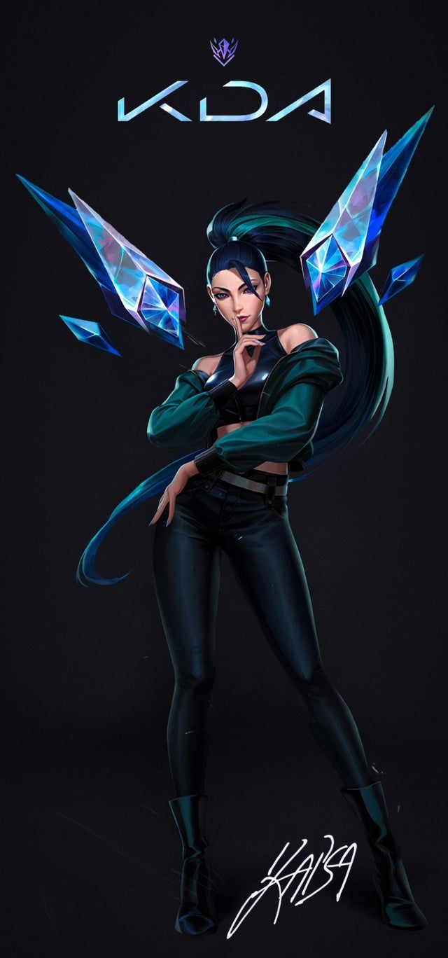K Da Kaisa The Baddest Wallpaper For Your Phones Kaisamains In 2020 Lol League Of Legends League Of Legends Characters Female Superheroes And Villains
